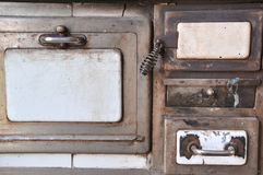 De oude Uitstekende Keuken trekt stock afbeeldingen