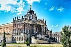 De oude universiteit van Potsdam stock foto's