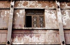 De Oude vensters Stock Afbeeldingen