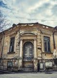 De oude verlaten bouw royalty-vrije stock foto's