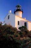 De oude Verticale Vuurtoren van het Point Loma, Royalty-vrije Stock Fotografie