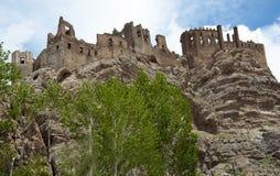 De oude vesting van Khoshar, de bouw van The Times van regeert van Urartu stock foto