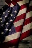 De oude vlag van de V.S. Stock Afbeeldingen