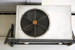 De oude voorwaarde van de compressorlucht Stock Foto