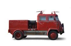 De oude Vrachtwagen van de Brand Royalty-vrije Stock Foto