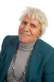 De oude vrouw van het portret Stock Afbeelding