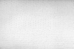 De oude vuile witte achtergrond van het bakstenen muurpatroon Royalty-vrije Stock Afbeeldingen