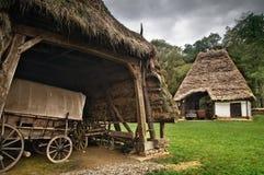 De oude wagen Stock Afbeeldingen