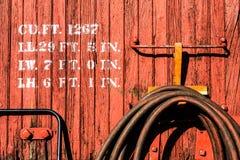 De oude wagen van de het westentrein Royalty-vrije Stock Afbeeldingen
