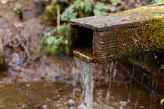 De oude waterlente Stock Fotografie