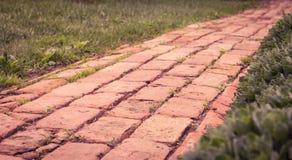 De oude weg van de plattelandssteen Royalty-vrije Stock Afbeelding