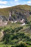 De oude weg van Fall River - rotsachtig berg nationaal park Colorado Royalty-vrije Stock Fotografie