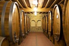 De oude wijnkelder Stock Foto