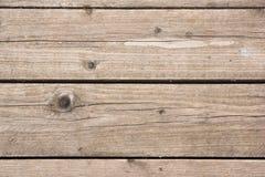 De oude wijnoogst planked houten raad - rustieke of landelijke achtergrond met vrije tekstruimte Stock Afbeelding