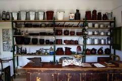 De oude winkel van het land Stock Foto