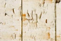 De oude Witte Verf van de Schil Stock Afbeeldingen