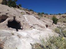 De Oude woningen van New Mexico Stock Afbeelding