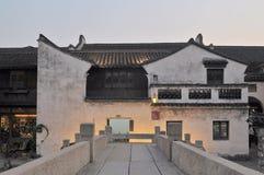 De oude woningen van Wuzhen Stock Foto's