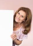 De oudere vrouw van Nice Royalty-vrije Stock Afbeelding