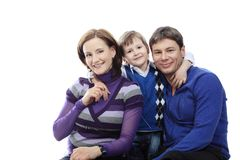 De ouders van de holding Royalty-vrije Stock Fotografie