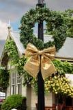 De ouderwetse decoratie van Kerstmis Royalty-vrije Stock Foto's