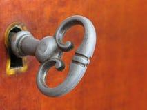 De ouderwetse Sleutel van het Meubilair Royalty-vrije Stock Foto's