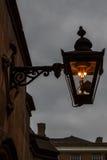 De ouderwetse straatlantaarn, Londen, Engeland Royalty-vrije Stock Foto