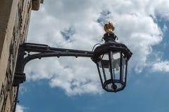 De ouderwetse straatlantaarn, Windsor, Engeland Royalty-vrije Stock Afbeeldingen