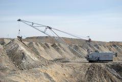 De output van de steenkool Royalty-vrije Stock Foto's