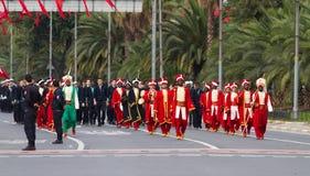 29 de outubro celebração do dia da república de Turquia Imagens de Stock