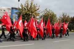 29 de outubro celebração do dia da república de Turquia Imagens de Stock Royalty Free