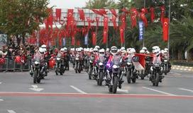 29 de outubro celebração do dia da república de Turquia Fotos de Stock Royalty Free
