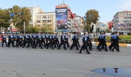 29 de outubro celebração do dia da república em 2017 Foto de Stock Royalty Free