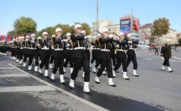29 de outubro celebração do dia da república em 2017 Fotografia de Stock