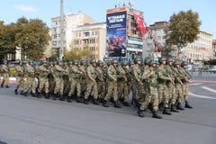 29 de outubro celebração do dia da república em 2017 Fotos de Stock