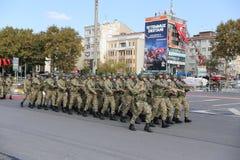 29 de outubro celebração do dia da república em 2017 Foto de Stock