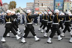 29 de outubro celebração do dia da república em 2017 Imagem de Stock Royalty Free
