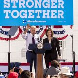 13 DE OUTUBRO DE 2016: Campanhas do vice-presidente Joe Biden para Nevada Democratic U S Candidato Catherine Cortez Masto do Sena Foto de Stock