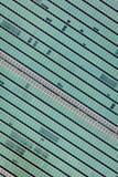 24 de outubro de 2016 - NEW YORK - próximo acima de United Nations que constroem janelas de East River, Yorkn novo - disparado no Fotografia de Stock