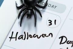 31 de outubro, Dia das Bruxas Foto de Stock