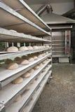 De oven van de bakkerij royalty-vrije stock afbeelding