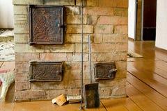 De oven van de baksteen royalty-vrije stock afbeelding