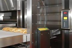 De oven van de broodbakkerij stock afbeeldingen