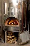De oven van de pizza Royalty-vrije Stock Afbeeldingen