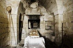 De oven van de steen Royalty-vrije Stock Afbeeldingen