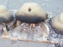 De oven van het baksel Stock Fotografie