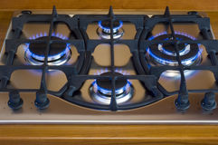 De oven van het gas royalty-vrije stock afbeelding
