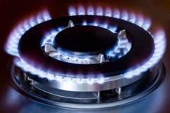 De oven van het gas stock foto's
