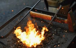 De oven van Smith Stock Foto's