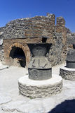 De Ovens van de Keuken van Pompei Stock Fotografie